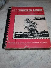 "The New Traveler Album ""Postage Stamps Of The World"" 1959"