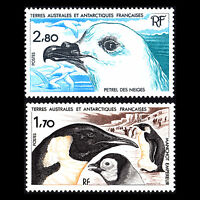 TAAF 1985 - Antarctic Wildlife Birds Fauna - Sc 114/5 MNH