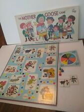 Vintage Cadaco The Mother Goose Game Board Game Complete 1971