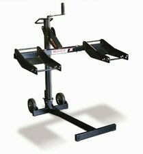 MoJack Lawn Mower Lift 300 lbs. Load Capacity Collapsible Adjustable Wheel Pads