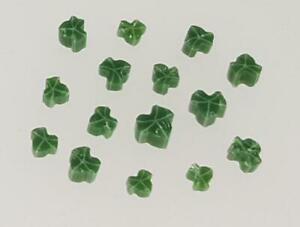 Fused Glass Materials and Supplies - Millefiori Ivy Leaves (90 COE)