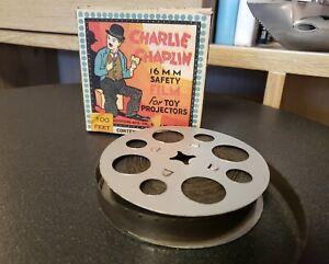 CHARLIE CHAPLIN Vintage B/W 16mm Silent Film Novelty 100' Filling a Prescription