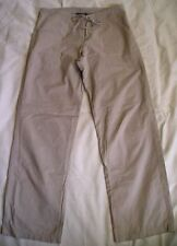 Cotton Blend Dry-clean Only Regular Size Pants for Women