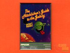 "The Hitchhiker's Guide to the Galaxy box art 2x3"" fridge/locker magnet  Infocom"
