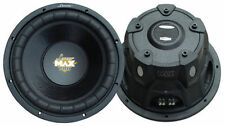 Lanzar MAXP124D Max Power 1600W / RMX 800W Subwoofer SPL 30cm/300mm