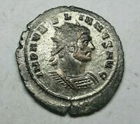 VERY RARE FULL SILVERED Aurelian AD 270-275 Struck AD 273-274 Ancient Roman coin