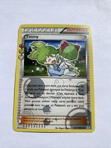 Carte Pokemon Near Mint Francaise Timmy Dresseur RC27/RC32 XY Générations FOIL