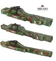 Mikado Rutenfutteral Rutentasche Camo 1/2/3 Fächer 100-160cm Angeltasche Holdall