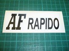 AF RAPIDO Stickers
