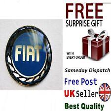 Badge Logo Emblem Sticker to Fiat Key Fob Case PUNTO PANDA BRAVO MK2 MK3 MK4 Evo