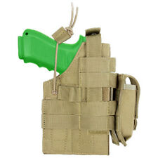 CONDOR TACTICAL AMBIDEXTROUS PISTOL HOLSTER ARMY OPERATOR MODULAR GUN HOLDER TAN
