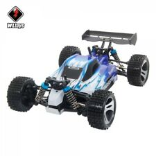 Wltoys A959 Vortex 1/18 2.4G 4WD Electric RC Car Off-Road Buggy RTR Blue