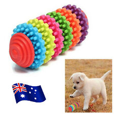 Colorful Rubber Pet Dog Puppy Dental Teething Healthy Teeth Gums Chew Toy Tool B