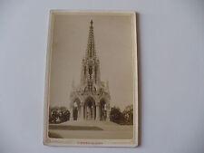 FOTOGRAFIA AI SALI D'ARGENTO BRUXELLES LE MONUMENT DE LAEKEN LEOPOLD I 1800 ORIG