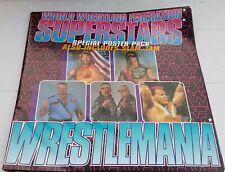 "WWF Superstars - Wrestlemania 7"" POSTERBAG Vinyl Record Single WF Wrestling"