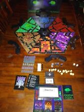 Atmosfear The Harbingers VCR Board Game Atmosphere Horror Video VHS Complete.