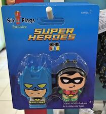Six Flags Magic Mountain DC Batman and Robin Super Heroes Figo Series1 New