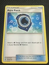 Pokemon : SM GUARDIANS RISING 4 X AQUA PATCH 119/145 UNCOMMON