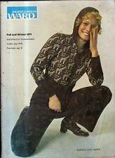 1971 Montgomery Ward's Fall/Winter Catalog-Mod clothes; ski mobiles;George Allen