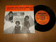 THE SUPREMES - HE MEANS THE WORLD TO  - 45 DUTCH PS / LISTEN - SOUL POPCORN - 2