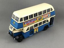 Sunlight Soap, Trux Code 2 TX6H - AEC Regent Double Decker - Blue