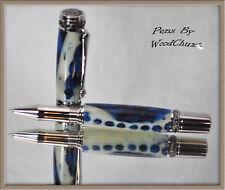 Handmade Alligator Jaw Bone Writing Rollerball Or Fountain Pen Beautiful Art 728