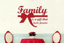 Family Is Gift That Lasts Forever Vinilo Pegatinas De Pared Adhesivo Decoración