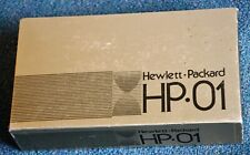 Hewlett Packard Very Rare HP-01 Calculator Watch with Gold-Filled, FW, Perfect!