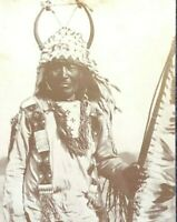 Big Chief Yellow Tepee Real Photo Black and White Collectible Card