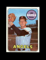 1969 Topps Baseball #386 Jim McGlothlin (Angels) NM
