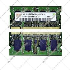 1 GB DDR2 667 PC2-5300 S MEMORIA RAM PARA PORTATIL SODIMM LAPTOP MEMORY