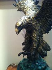 Western Wildlife Eagle Bronze