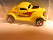 Hot Wheels 1997 #526  NEET STREETER yellow (1936 Ford coupe)