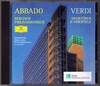 Claudio ABBADO: VERDI Les Vepres Siciliennes Macbeth Don Carlos Aida Nabucco CD