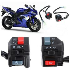 "7/8"" Motorcycle Handlebar Horn Turn Light Controller Electrical Start Switch New"