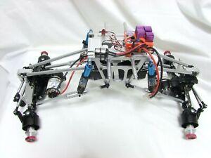 Chasis Crawler Gecko Pro con Ejes Tamiya Clod buster / Clodbuster
