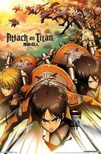 Attack on Titan Poster - Anime Characters size 22x34