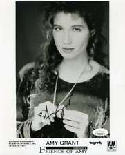 Amy Grant JSA Coa Hand Signed 8x10 Photo Autograph