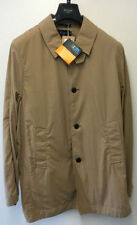 Men's Button Cotton Trench Coats, Macs Coats & Jackets