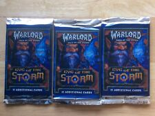 Warlord Saga Of The Storm CCG Eye Of The Storm Booster Packs Plus 6 Warlords