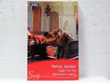 Virgin for the Billionaire's Taking by Penny Jordan (Paperback, 2008)       8063