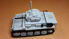 Lego WW2 GERMAN Vehicle Panzer II ausf. E TANK Artillery NEW