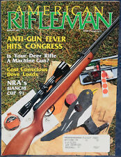 Magazine AMERICAN RIFLEMAN, August 1991 BERETTA A303 SHOTGUN, RUGER SP101 9mm