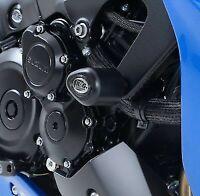 R&G RACING Aero Crash Protectors, Suzuki GSX-S 1000 / 1000 ABS *BLACK*