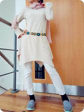 LECHATEAU Paris Asymmetric skater dress ALine tassels Beaded Mini Cardigan Cape