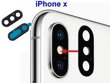 Pour iPhone X Lentille en Verre + Adhésif Spécifique Caméra Appareil Photo  OEM-