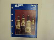 AC Delco Spark Plug Book