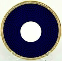 Wedgwood Hibiscus Saucer 6 Inch Blue Gold Bone China Replacement Plate NEW