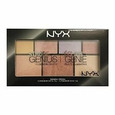 NYX Professional Makeup STROBE OF GENIUS Illuminating Palette 7 COLOURS