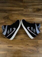 Nike Air Jordan 1 Mid Black/grey Men's Sneakers UK 8